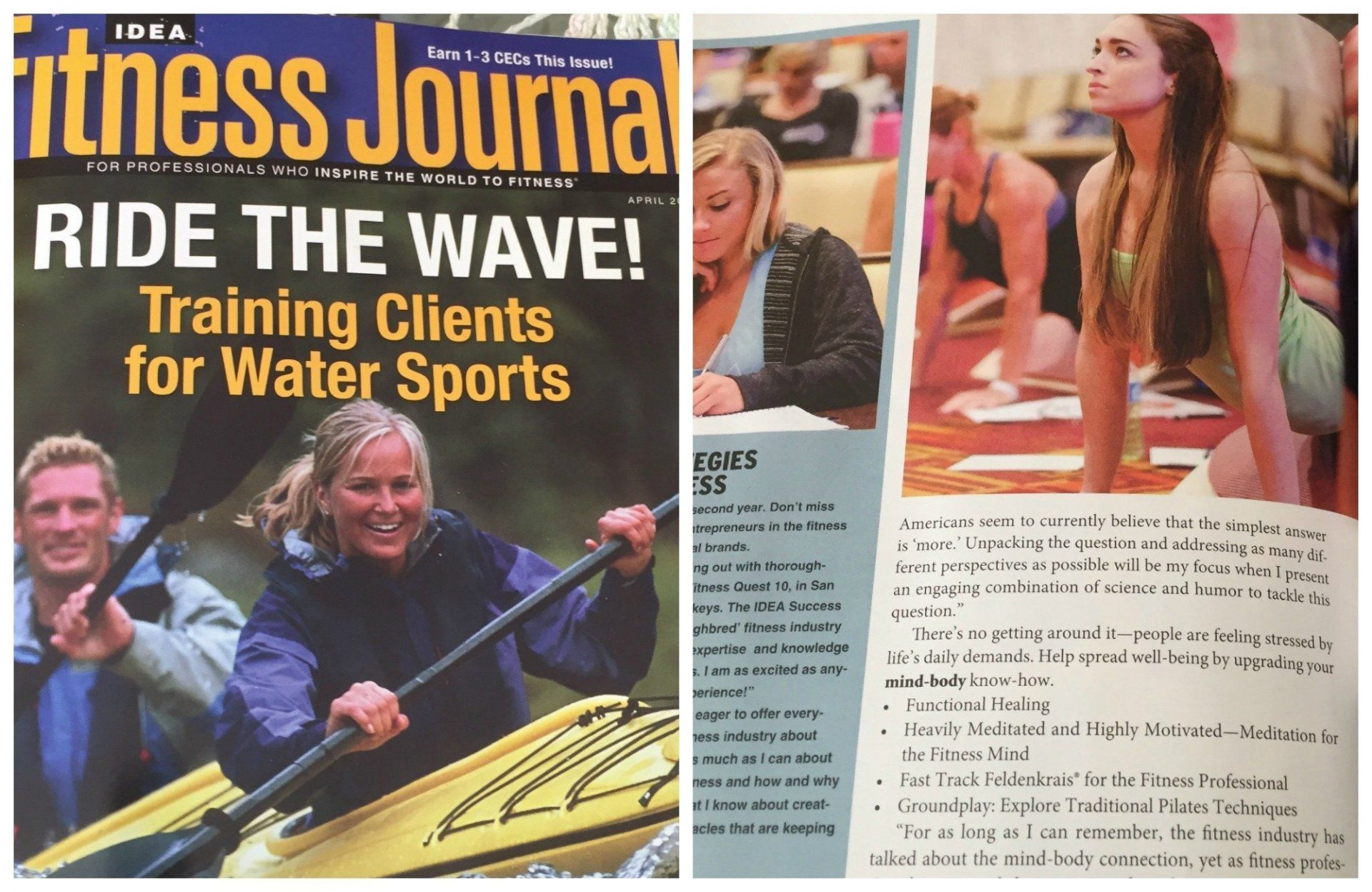 idea fitness magazine steph dorworth