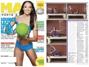 MAX sports and fitness magazine