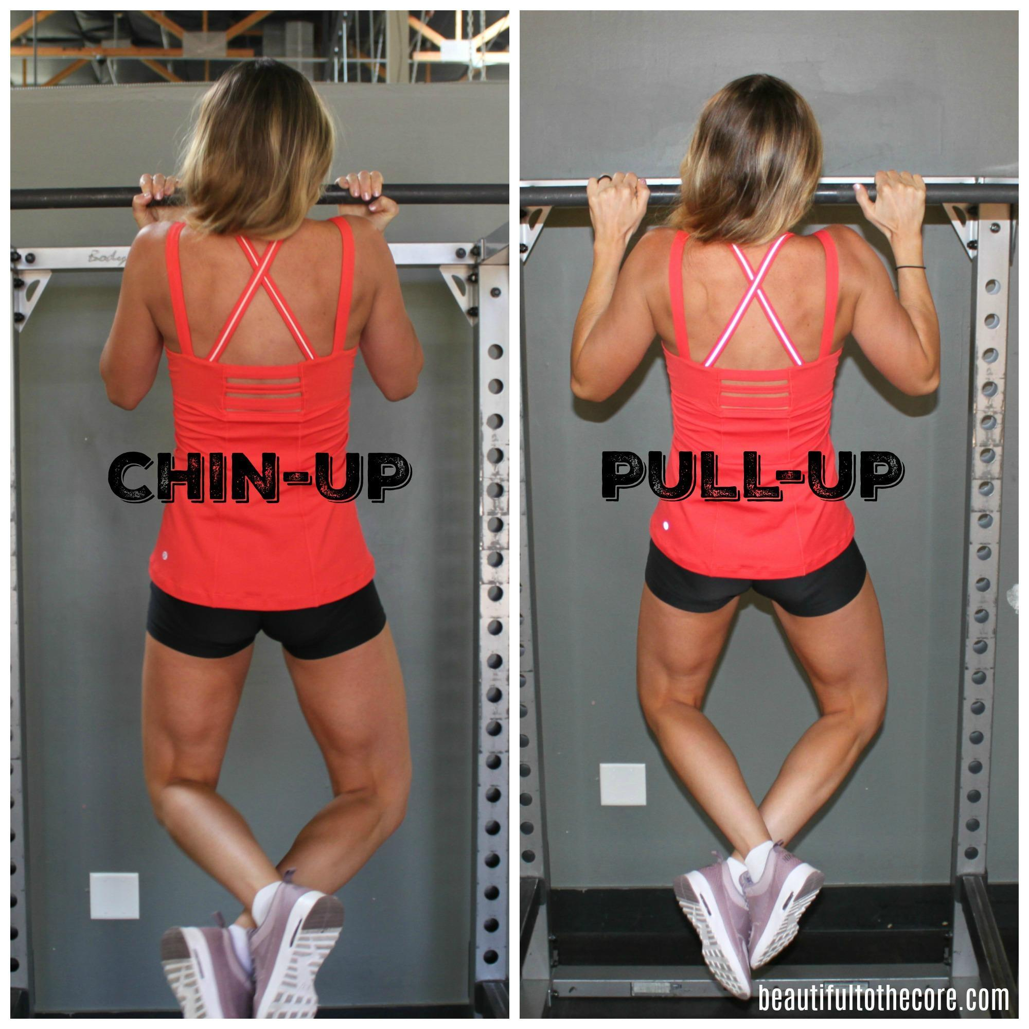 Conquer Pull Ups - Beautiful to the Core