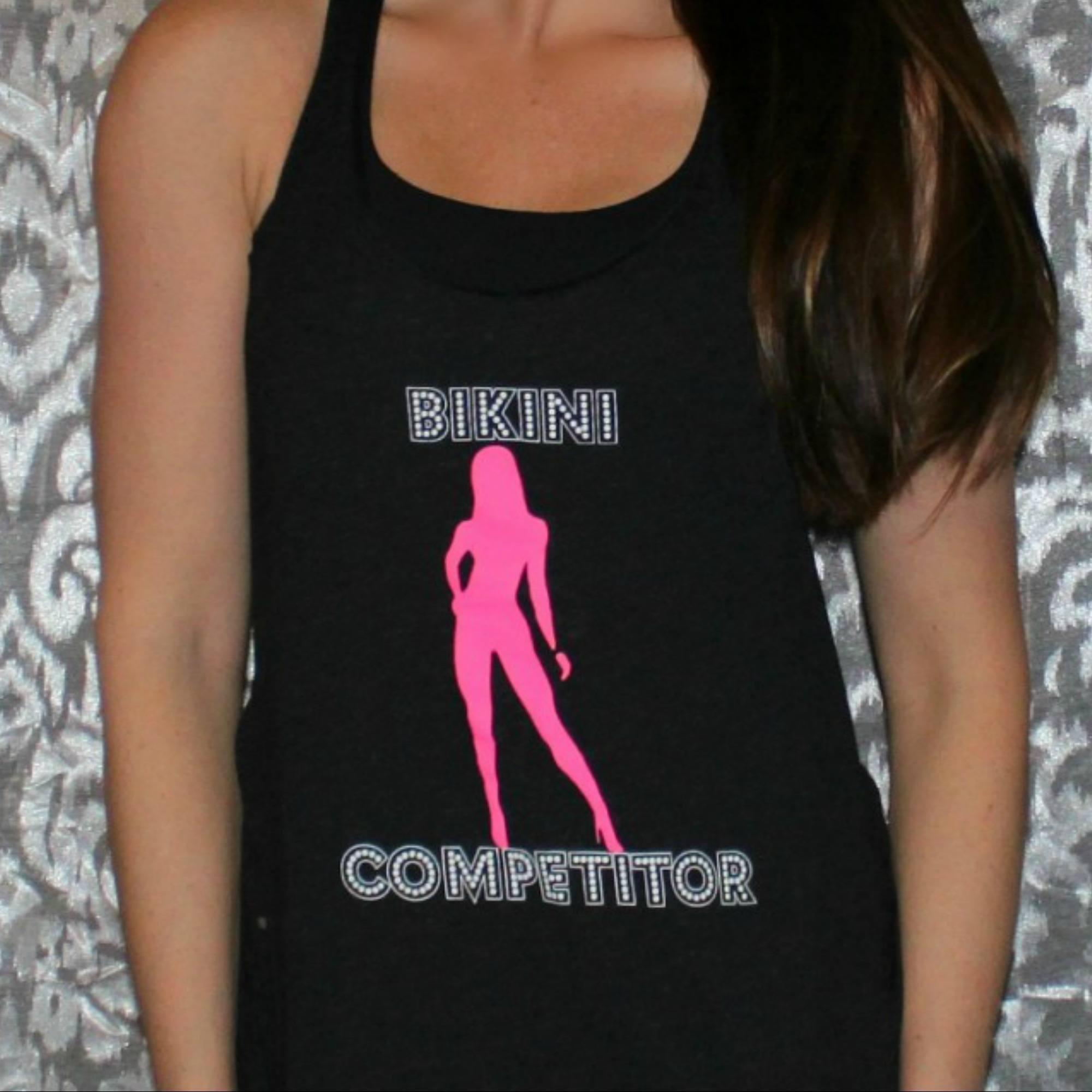 bikini competitor tank