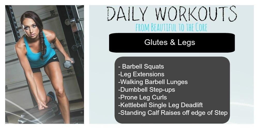wod glutes legs