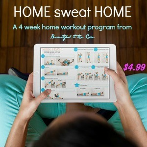 home sweat home 4 week workout program