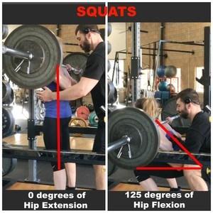 squat angles