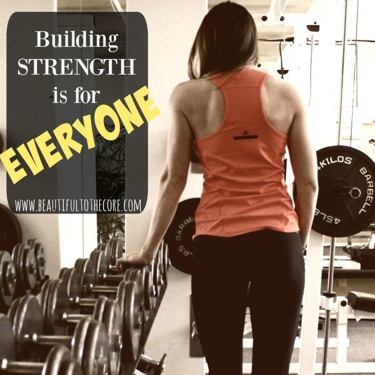 is strength training for me? strength training is for everyone