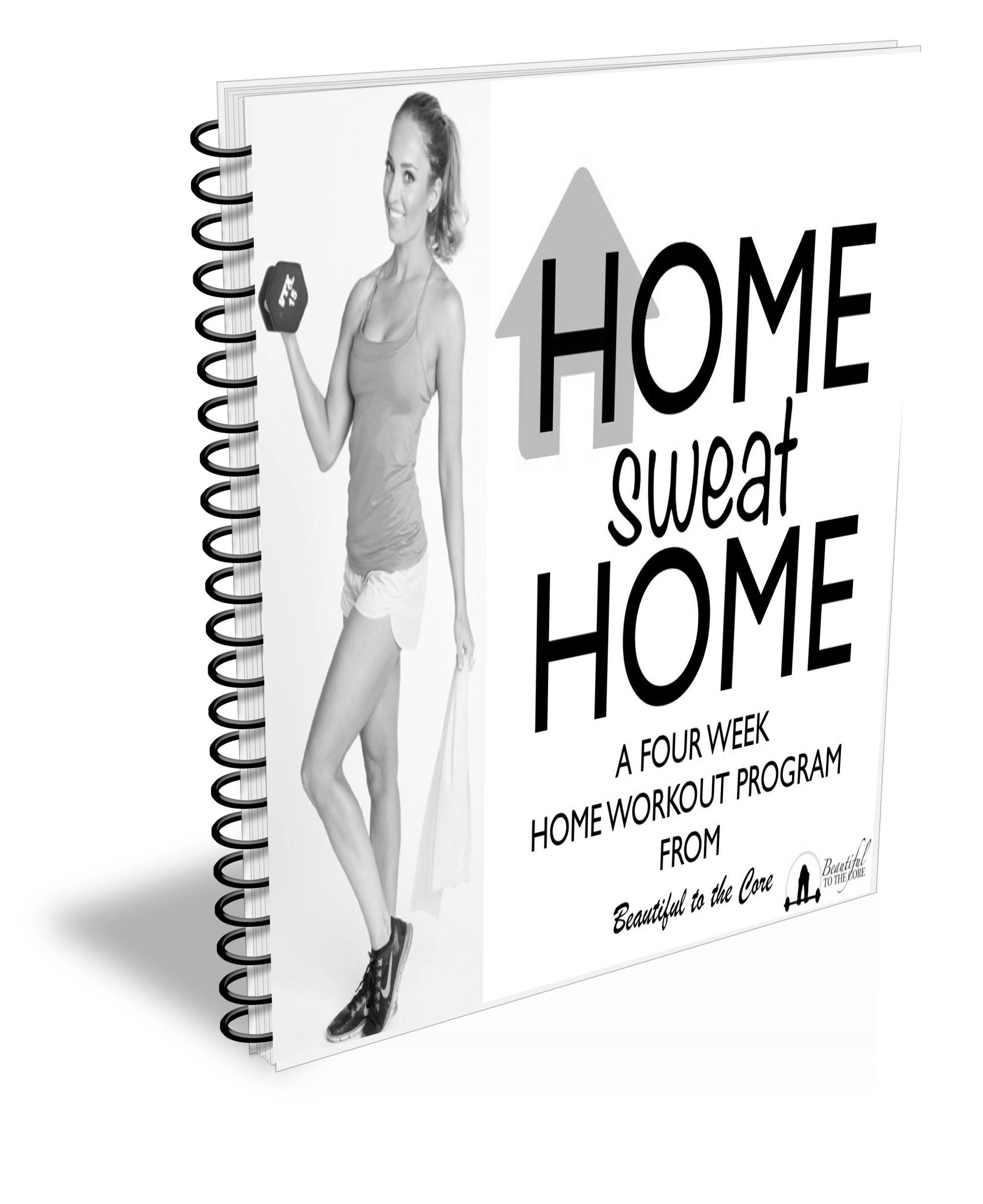 home sweat home workout program