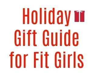 holiday gift guide for fit girls