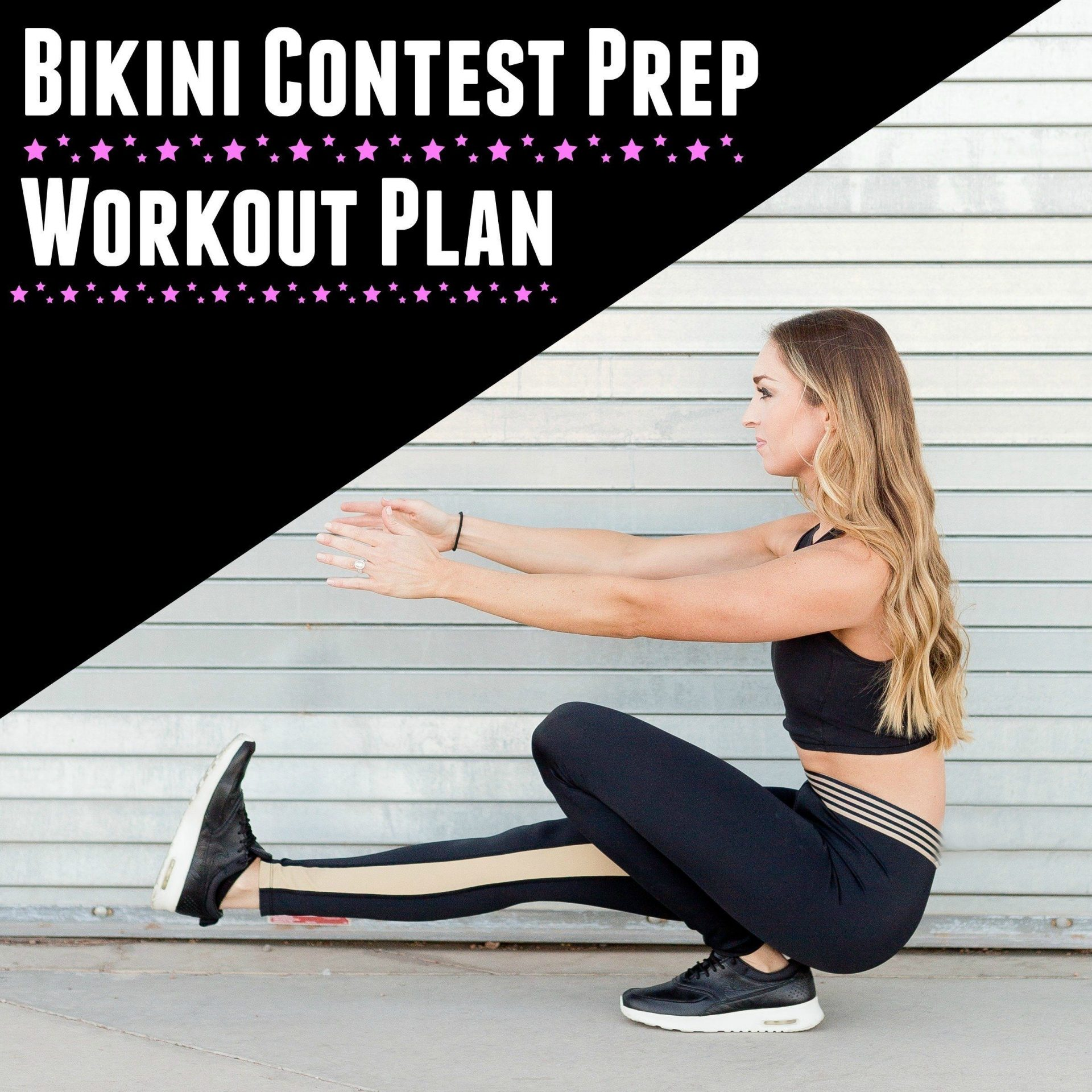 Contest Plan Bikini Beautiful Workout Prep The Core To nw8PO0kX